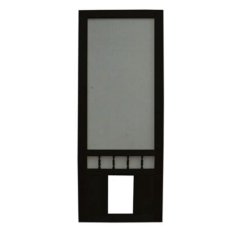 shop screen tight southport 30 in black wood screen door