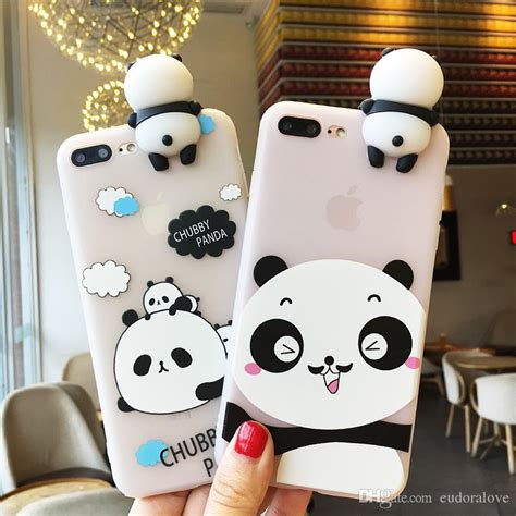 Softcase 3d Panda Oppo F3 3d panda cases for iphone x 6 6s 8 7 clear soft