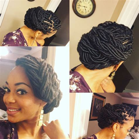 Dreadlock Pin Up Hairstyles by Beautiful Loc Updo Goddess Loc Style Hair