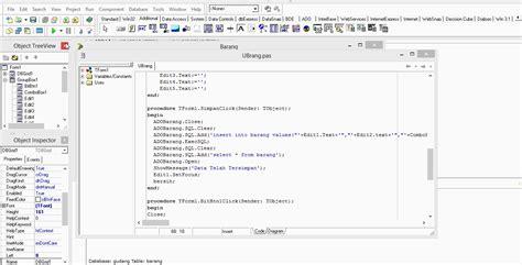 jual tutorial delphi simpan data ke database mysql menggunakan delphi 7