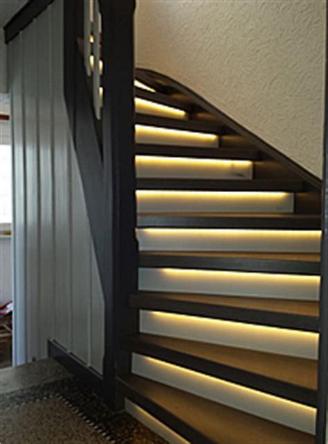 beleuchtung holztreppe philipp stief schreinerei treppen treippenrenovierung
