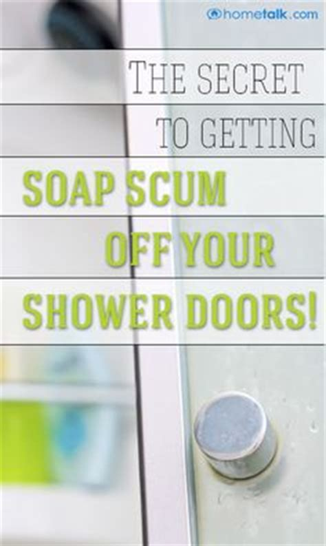 getting soap scum glass shower doors 1000 images about shower doors on cleaning