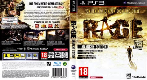 Rage 123movies Rage German Ps3 Cover German Dvd Covers