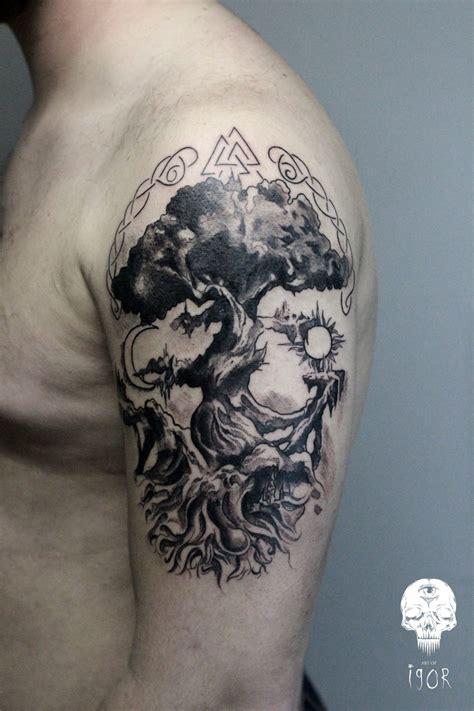 yggdrasil tattoo pictures yggdrasil artofigor tumblr com facebook com artofigor