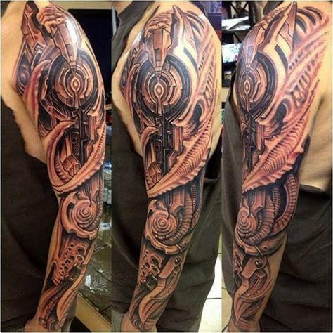 biomechanical tattoo noga biomechanik tattoo menschen und maschinen tattoos