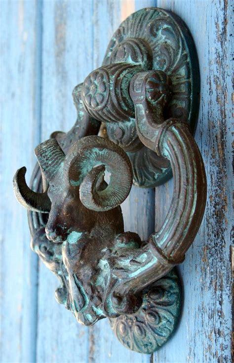 Vintage Door Knocker by Antique Large Ram Door Knocker Doors Their Handles
