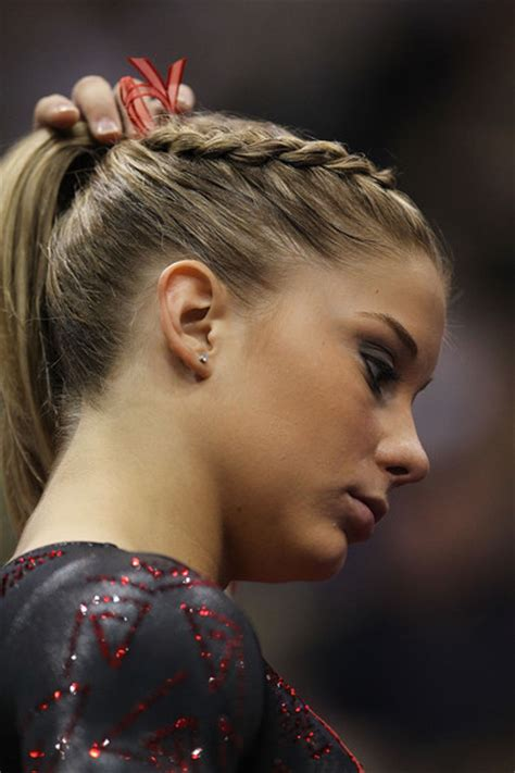 hair style chionship shawn johnson in 2011 visa chionships day 4 zimbio