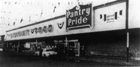 Pantry Pride Supermarket by Ta Bay Area History Timeline Groceteria
