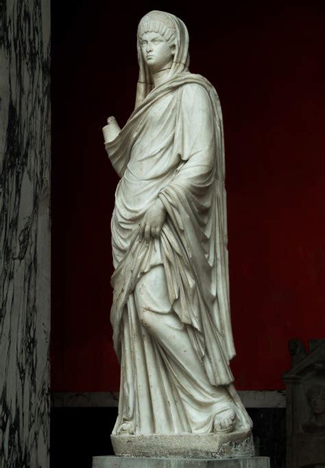 ancient roman women sculptures image gallery woman statue