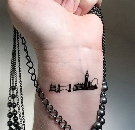 henna tattoos london skyline temporary tattoos