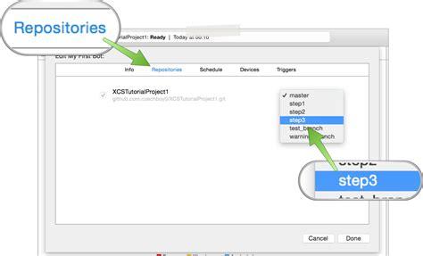 xcode bots tutorial xcode server tutorials 3 prebuild postbuild scripts