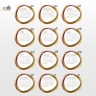 Calendario Circular Calendario Circular Fotos Y Vectores Gratis