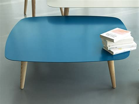 Promo Top Oline Square nord2 promo design wooden coffee table with square metal