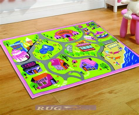Childrens Play Rugs by Matrix Childrens World Play Mat Rug 100x190cm Ebay