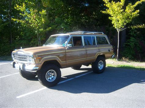 jeep wagoneer 1995 melophiliac 1986 jeep grand wagoneer specs photos