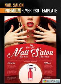 Nail Templates Free by Nail Salon Flyer Psd Template Cover 187 Free