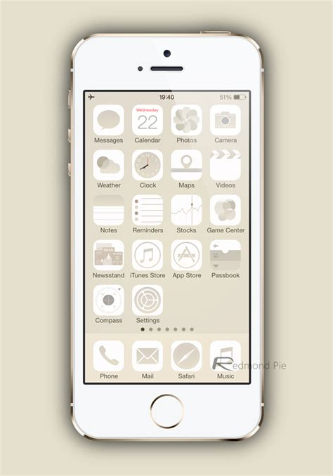 gold themes cydia this ios 7 theme perfectly matches iphone 5s gold space