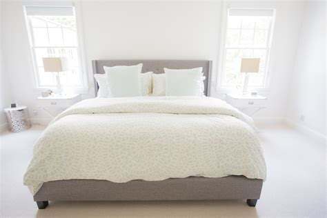 bed with euro pillows nashville master bedroom tour fashionable hostess