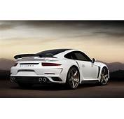 White Porsche 911 Turbo S Stinger