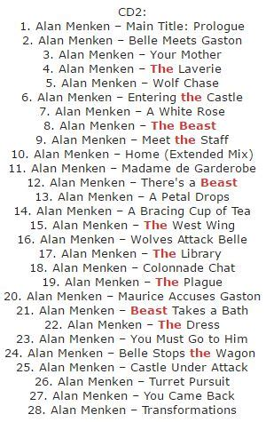 alan menken beauty and the beast mp3 download موسیقی هفته دانلود موسیقی متن فیلم beauty and the beast