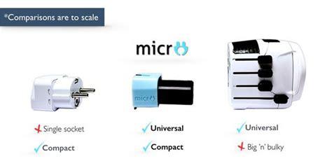 Travel Universal Adaptor Bisa Di Pakai Di Semua Negera Db micro universal travel adapter ringkas modular dengan surge protection blackxperience