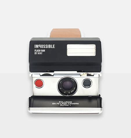 mint flash bar for polaroid sx 70 cameras | freestyle