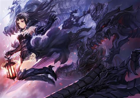 anime armor girl wallpaper gauntlets anime girls armor fantasy wallpaper anime