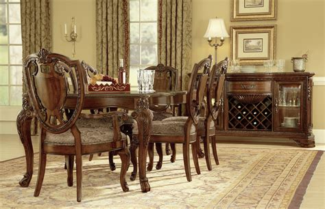 old dining room furniture buy old world dining set by art from www mmfurniture com