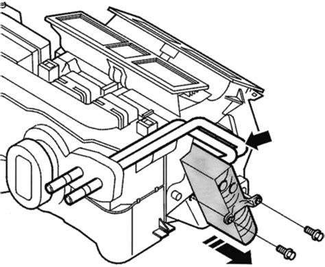 repair guides heater core removal installation autozonecom