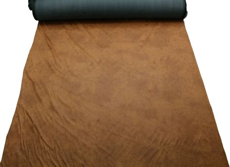 distressed faux leather upholstery fabric aged brown distressed antiqued suede faux leather