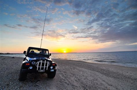 jeep wrangler beach sunset 17 best images about surfcasting buggies on pinterest