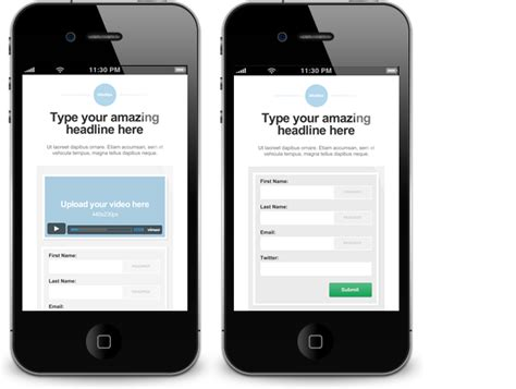 mobile landing page builder how to build the mobile landing page that converts