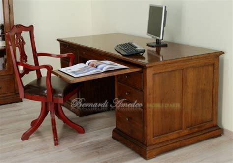 scrivania da studio scrivania da studio in noce ros 224