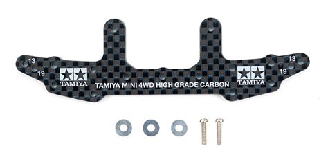 Tamiya Ar Chassis Abs Terminal Plate hg carbon rear stay 3mm
