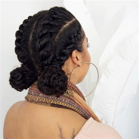 natural hair big braids 17 best ideas about goddess braids on pinterest corn