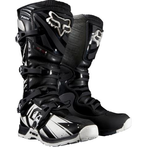 black dirt bike boots fox racing comp 5 undertow s motocross road dirt