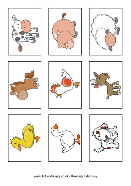 printable flash cards of animals best photos of farm animal printables farm animal flash