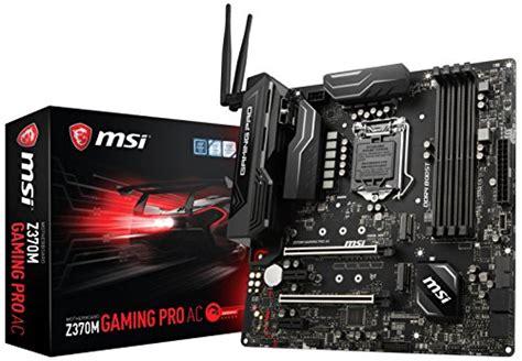 Sale Msi Z370 Gaming Plus Intel Lga 1151 Z370 Coffee Lake msi z370 gaming plus cfx atx motherboard