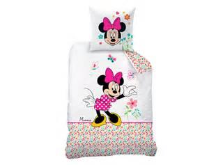 linge de lit enfant minnie de disney 174 becquet