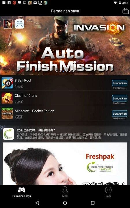 game android mod bahasa indonesia flf blogger