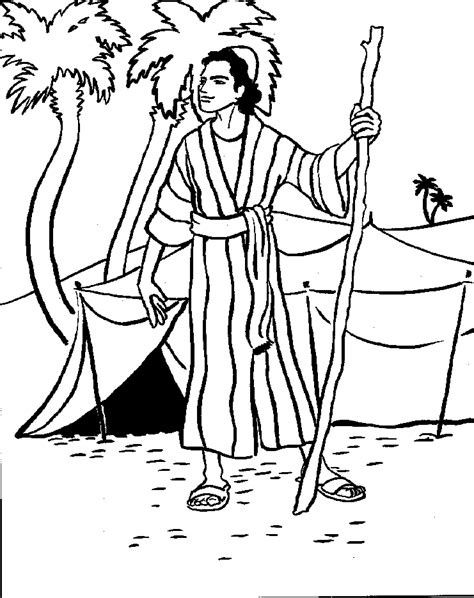 printable coloring pages joseph coat josephs coat coloring pages bible c 2014 god s all