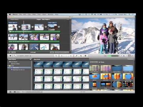 slideshow themes for imovie tutorial how to burn an imovie project to dvd hd doovi