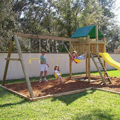 backyard swing plans backyard swing set plans 187 backyard and yard design for