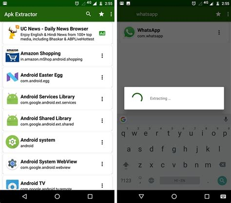 extract apk how to extract apk of android app without root beebom