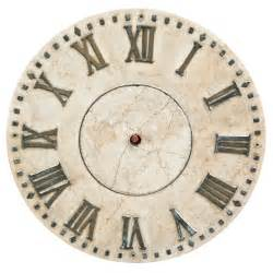 marble clock face at 1stdibs