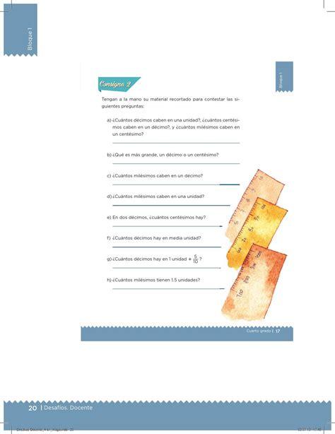 issuu libro de matemticas contestado etc desaf 237 os 4 docente by santos rivera issuu