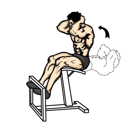 Curl Up Chair by Illustrated List Of Weight Techniques
