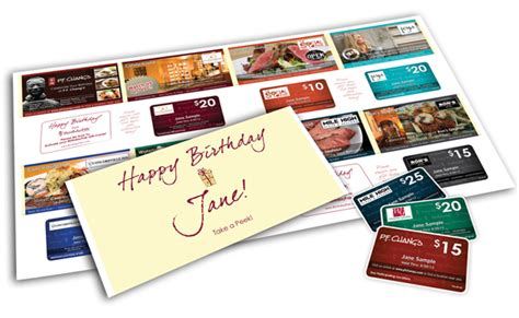 Blair Gift Cards - birthdaypak gives direct marketing a new look free gift cards blair blogs