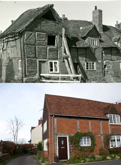 End Cottage by The End Cottage Castle Green Then Now Kenilworth
