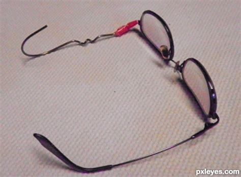 glasses repair glass eye